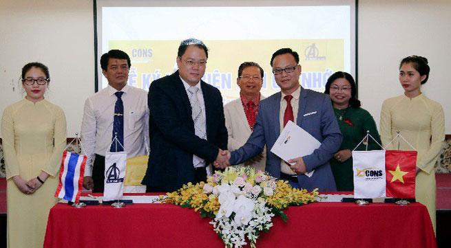 Bcons hợp tác cùng nhà đầu tư Thái Lan phát triển BĐS Việt Nam