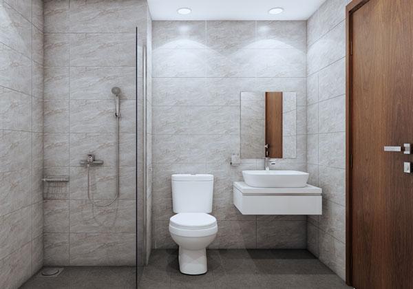 Phòng vệ sinh căn hộ Bcons suối tiên loại B