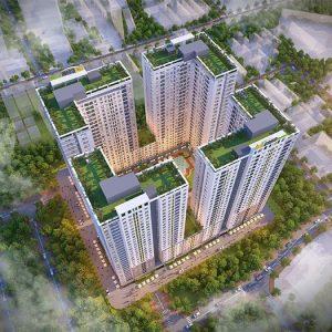 Phối Cảnh Chung Cư Bcons Garden