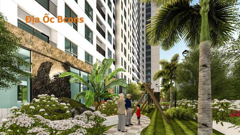 Không gian xanh của Dự án Bcons miền Đông
