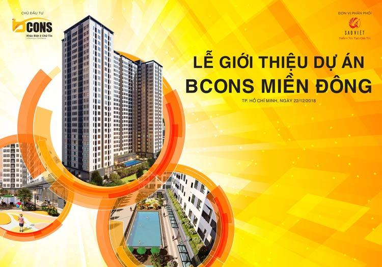 Lễ ra mắt giới thiệu dự án Bcons miền Đông