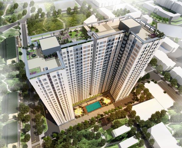 Dự án căn hộ chung cư Bcons Miền Đông
