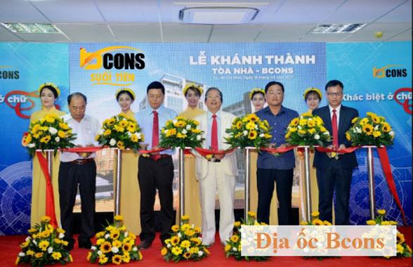 Công ty CP Địa ốc Bcons uy tín