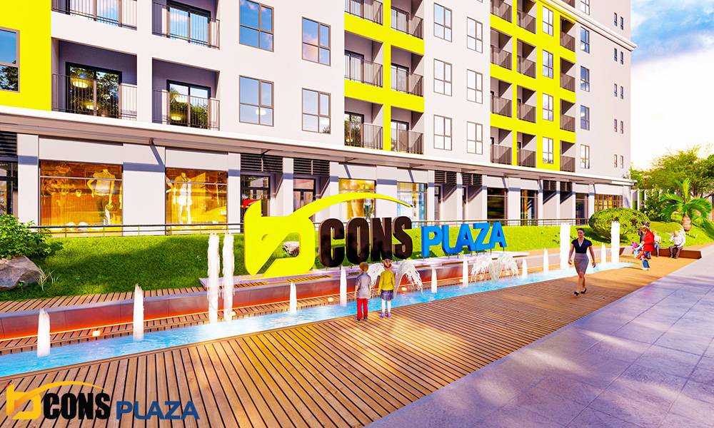 Khu Thương Mại Bcons Plaza