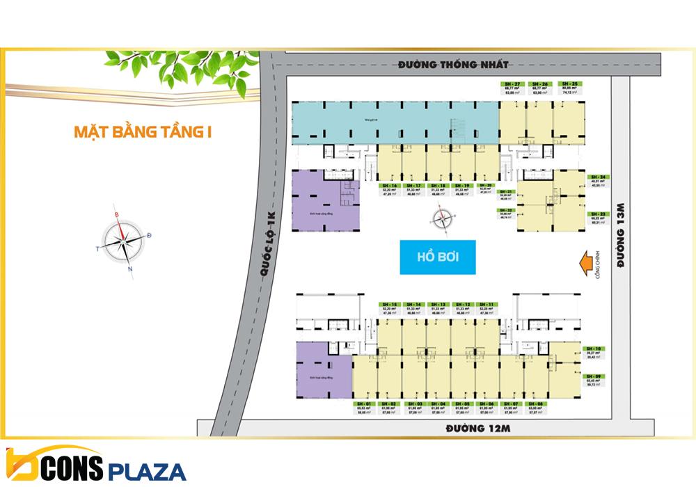 Mat Bang Tang 1 Bcons Plaza