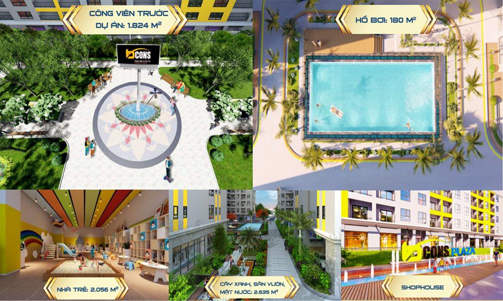 Tiện Ích Dịch Vụ Bcons Plaza