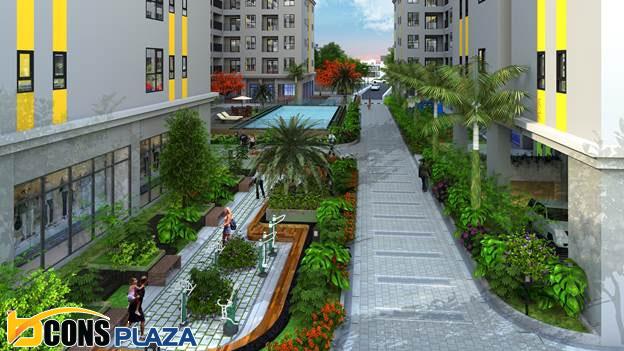 Du An Bcons Plaza Hut Khach Nho Vi Tri Cua Ngo Tp Hcm Va Di An 1