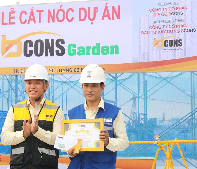 Vuot Tien Do 30 Ngay Du An Bcons Garden Chinh Thuc Cat Noc 2